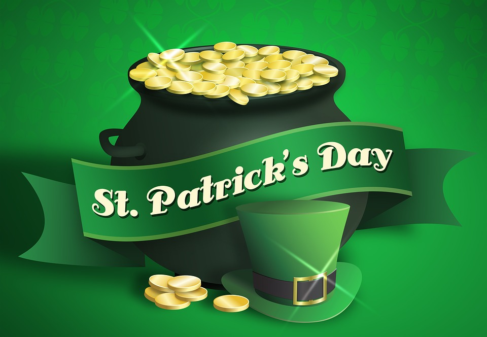 Pot Of Gold Saint Patricks Day St Patrick's Day
