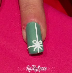 nailart tiffany nastrino pacchetto pack nails unghie compleanno birthday romyspace