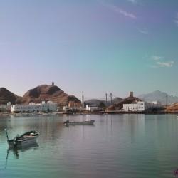 La baia di Sur in Oman