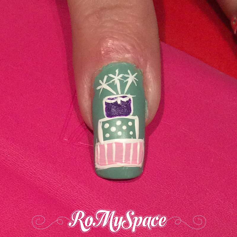 Compleanno nail art