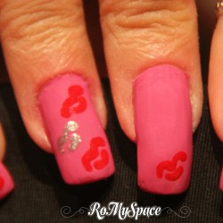 Baci Pop Art Nail Art
