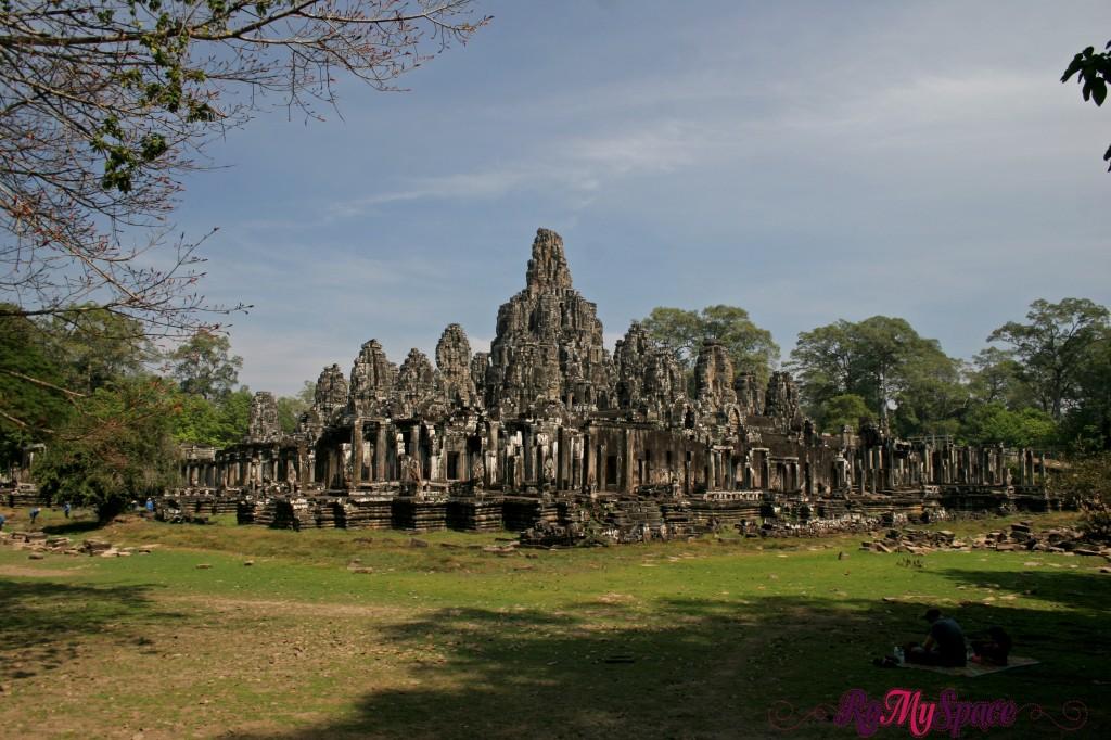 cambogia angkor sito archeologico bayon tempio 2