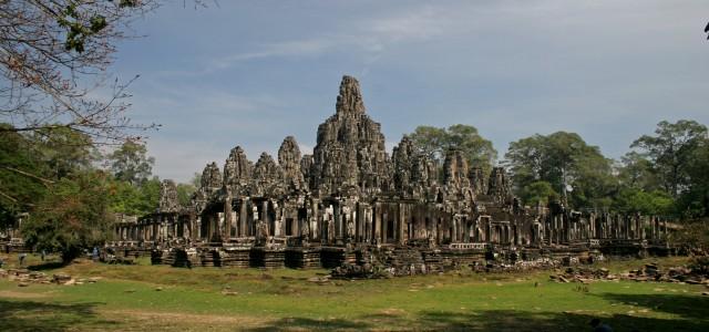 Il tempio di Bayon ad Angkor in Cambogia