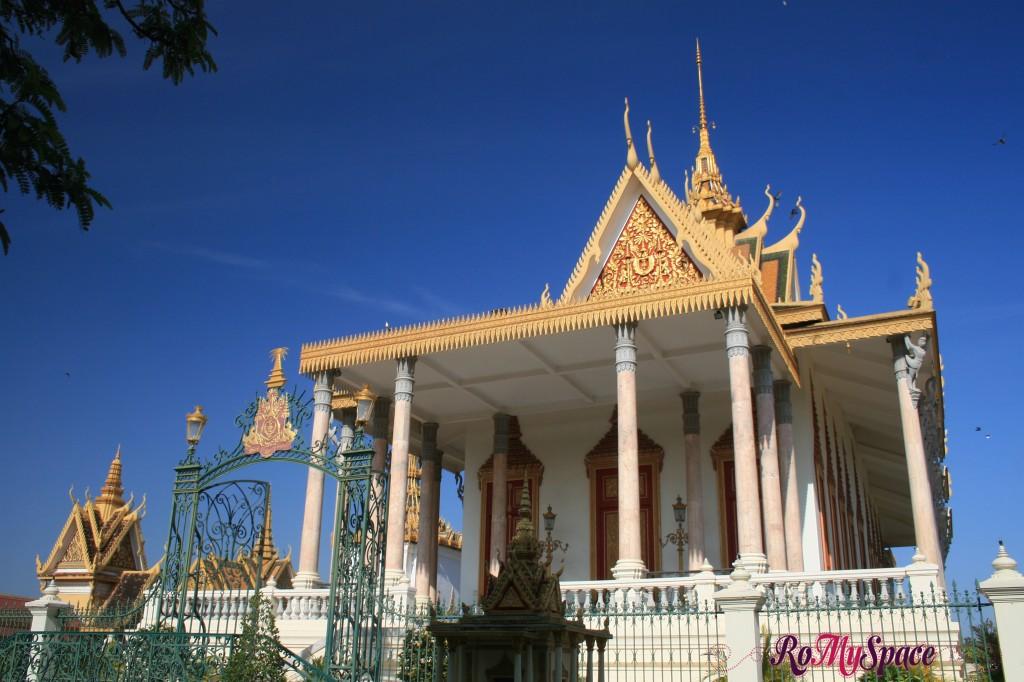 Pagoda d'argento - Palazzo reale di Phnom Penh
