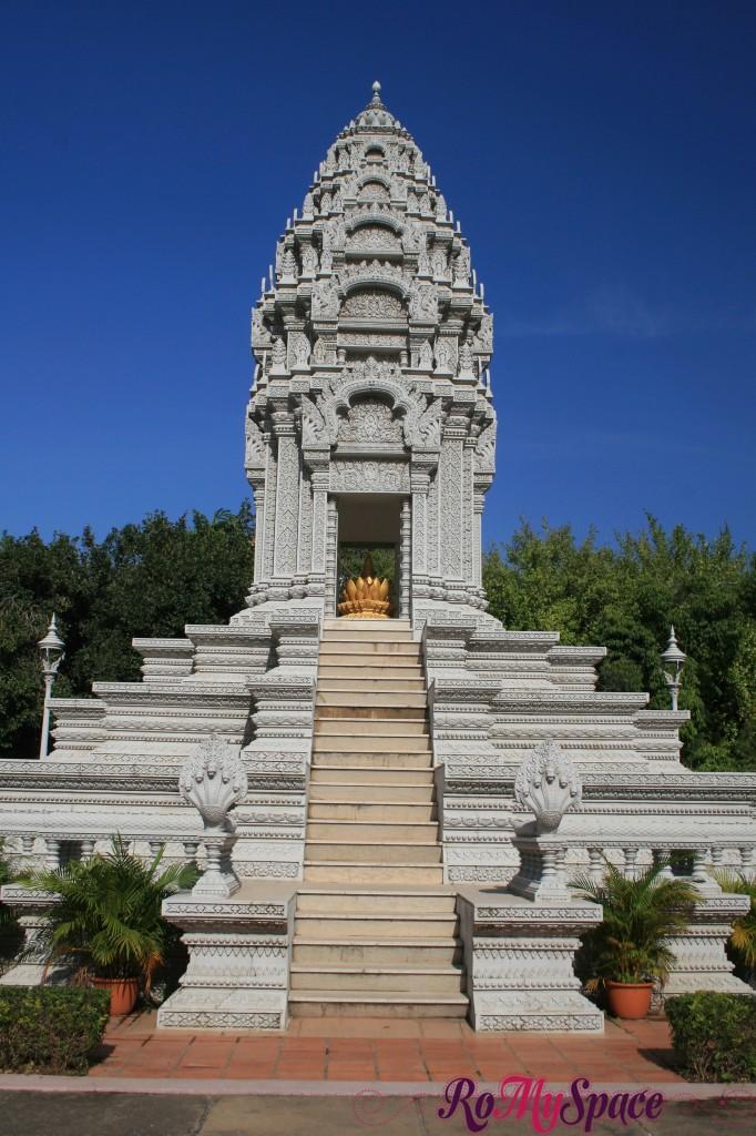 Tombe reali - Palazzo reale di Phnom Penh