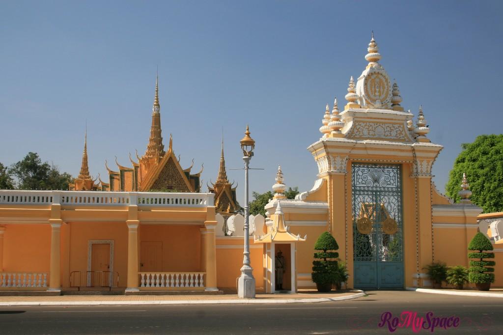 Ingresso - Palazzo reale di Phnom Penh