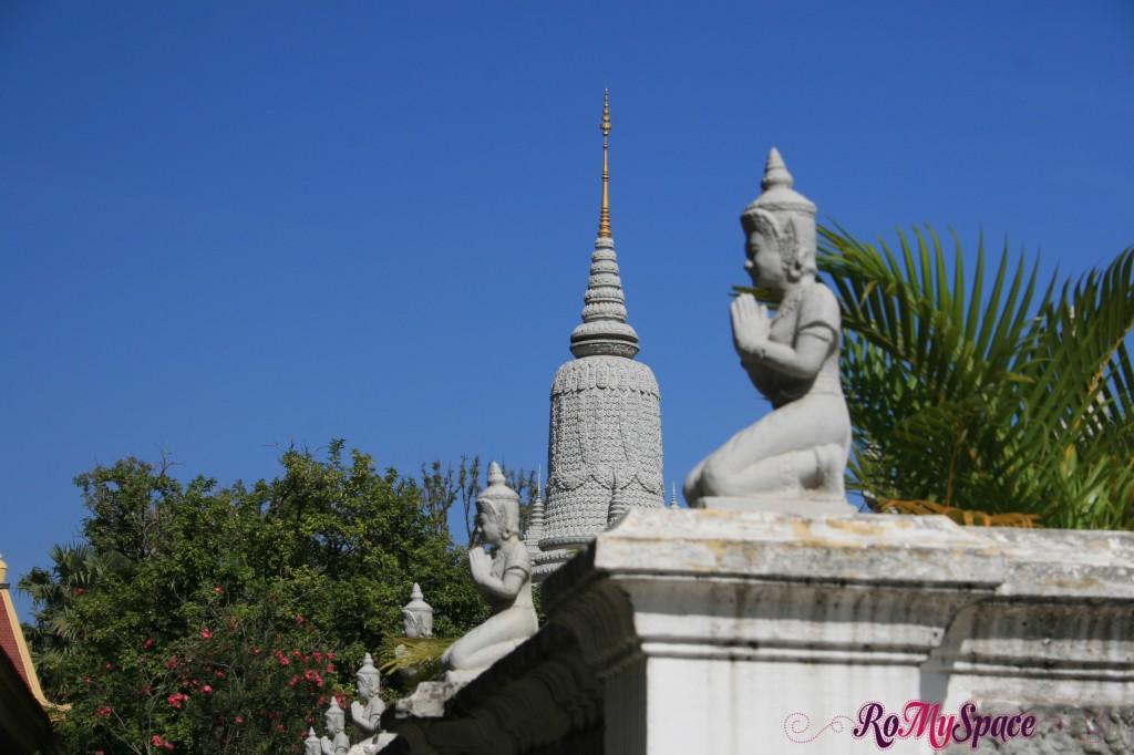 Stupa - Palazzo reale di Phnom Penh