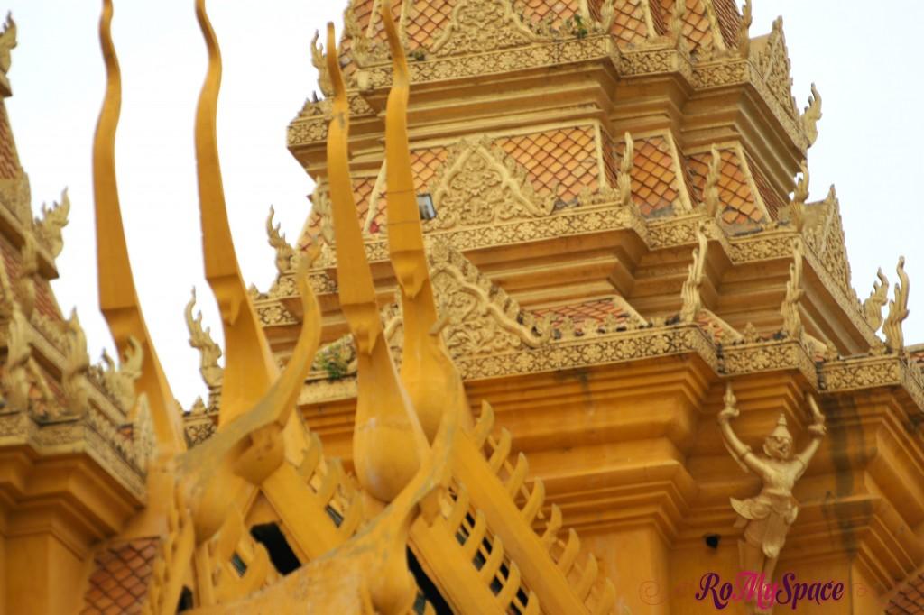 Dettaglio del tetto - Palazzo reale di Phnom Penh