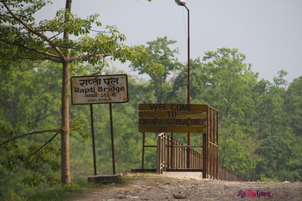 Chitwan Nat. Park - Gate