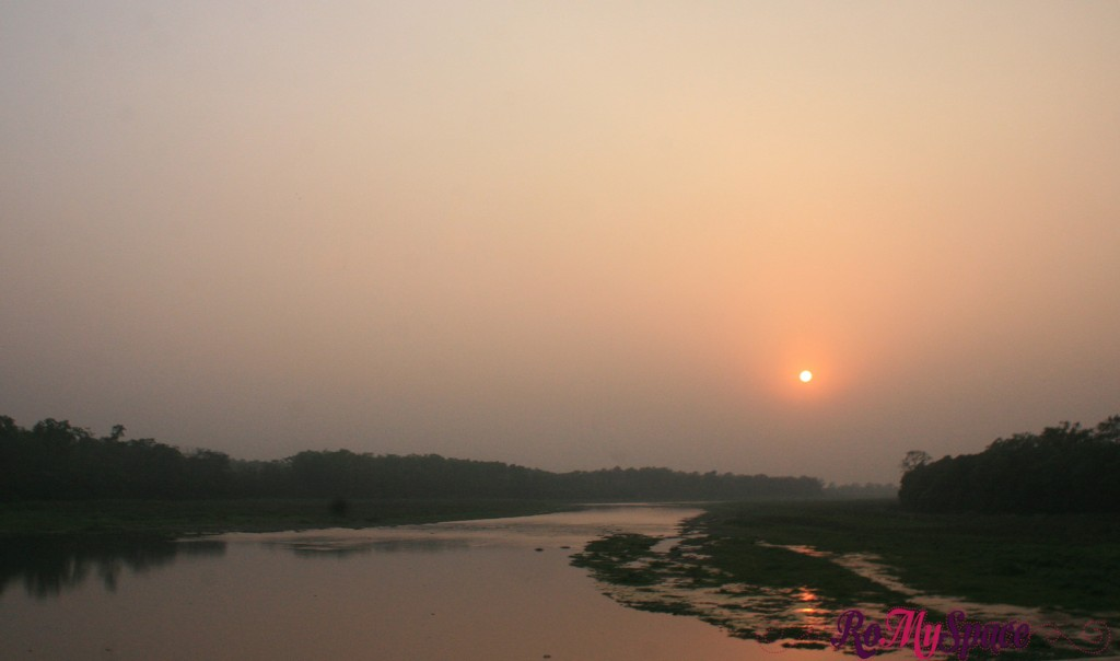 Chitwan Nat. Park - Tramonto
