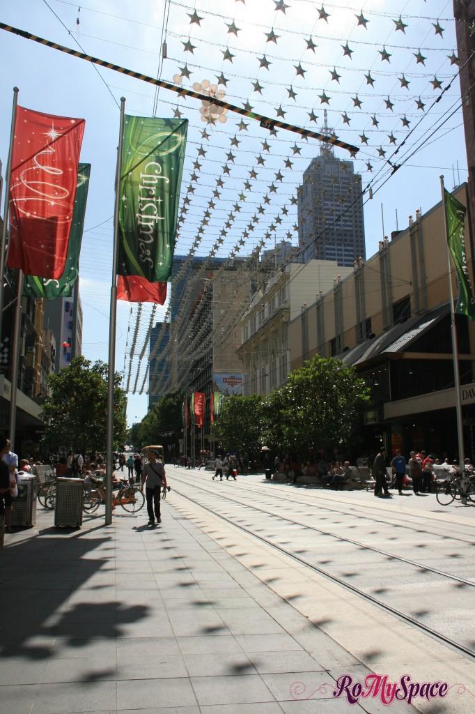 Melbourne - Bourke Street Mall