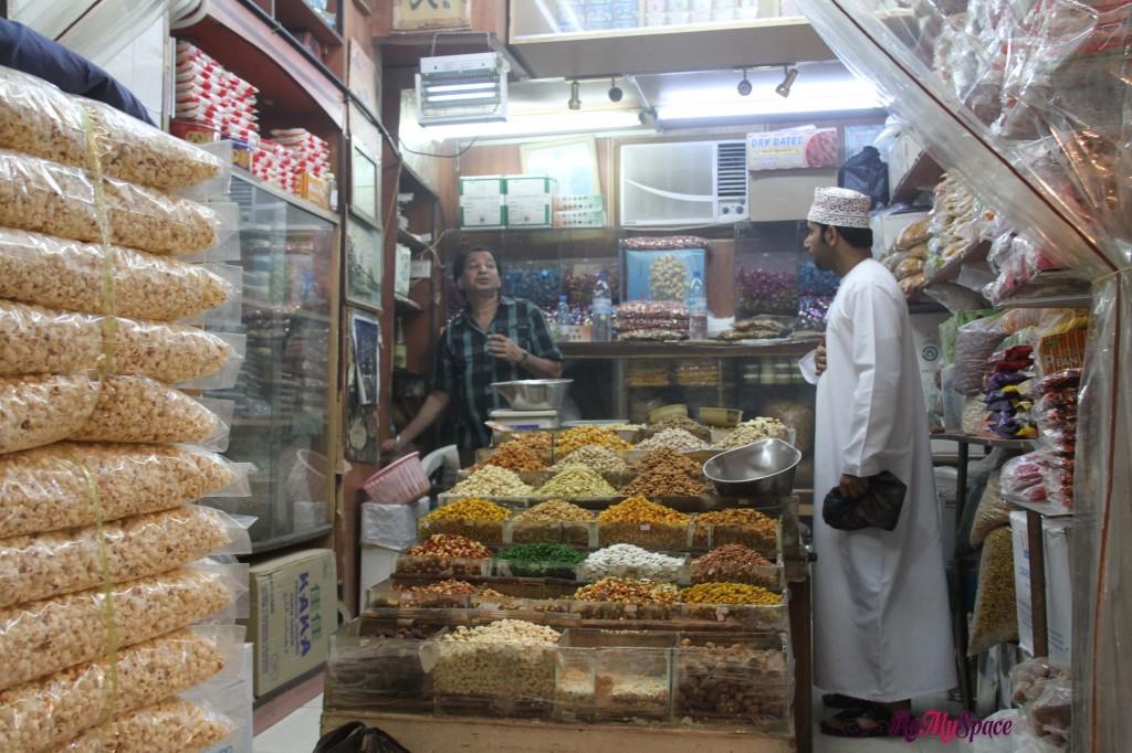 Negozio di incenso al souq di Muscat