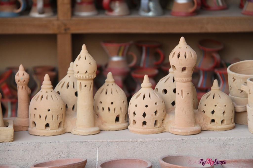 Le terracotte del souq di Nizwa