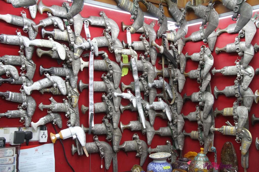 Khanjar al souq di Muscat