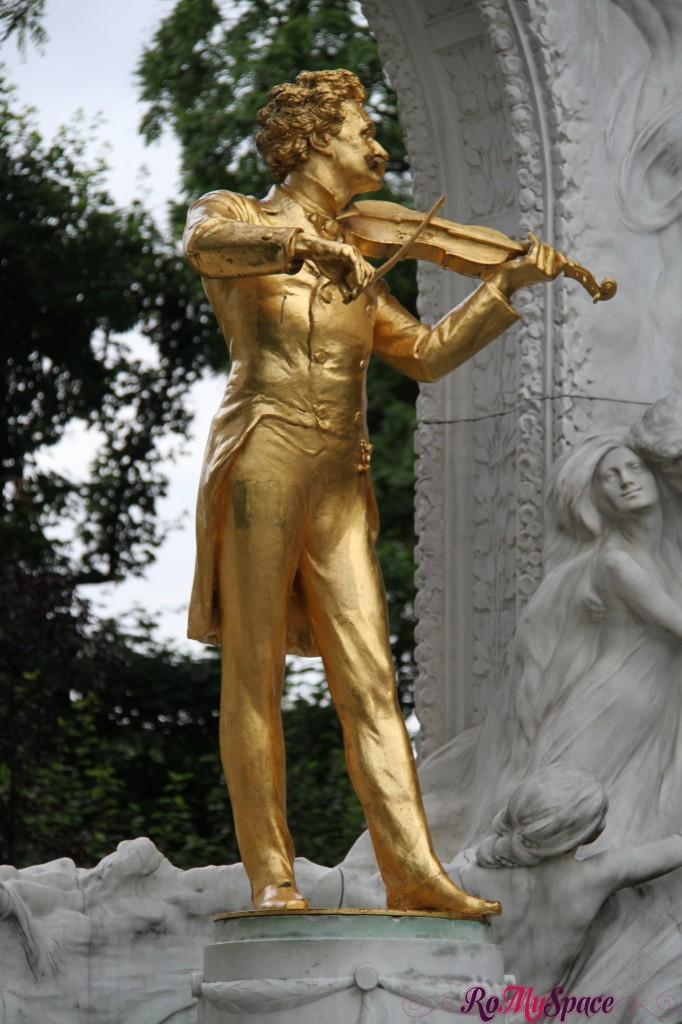 Mozart nei giardini dell'Hofburg