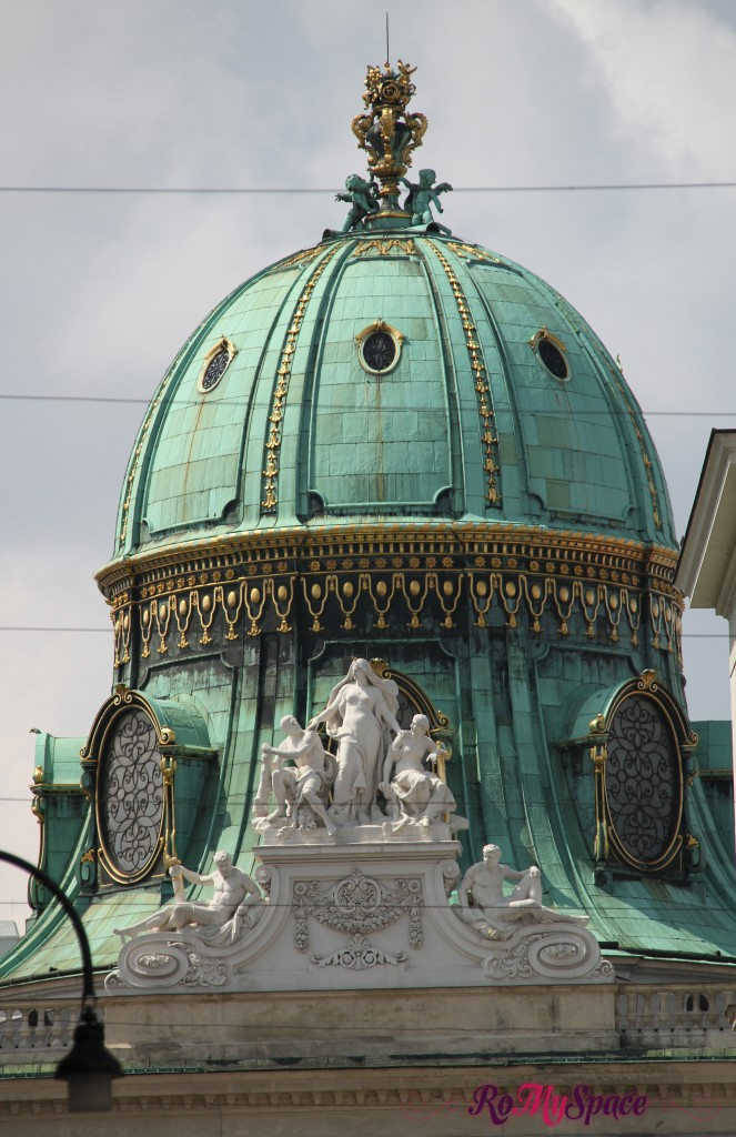 Il palazzo imperiale dell'Hofburg