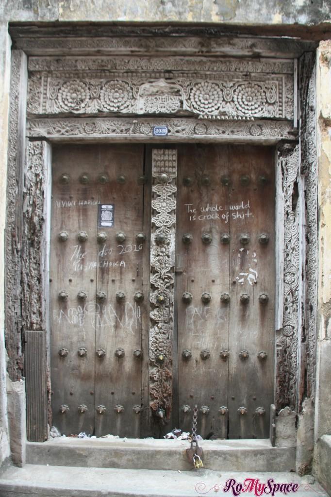 Zanzibar - Stone Town - Porta Antica
