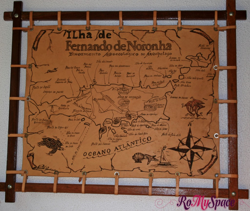 Mappa di Fernando de Noronha