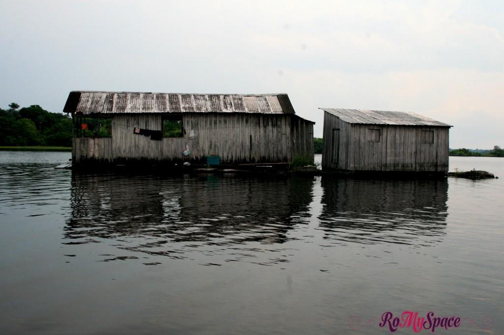 Case sul Rio Negro in Amazzonia