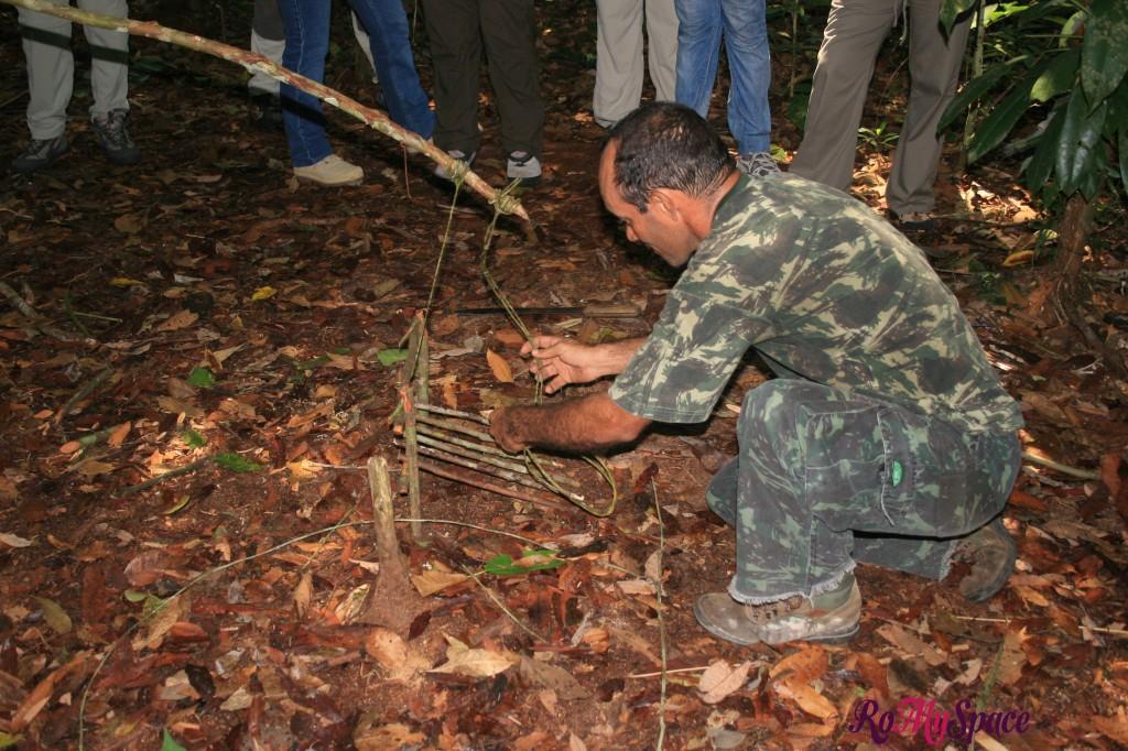 Come costruire una trappola - Foresta Amazzonica