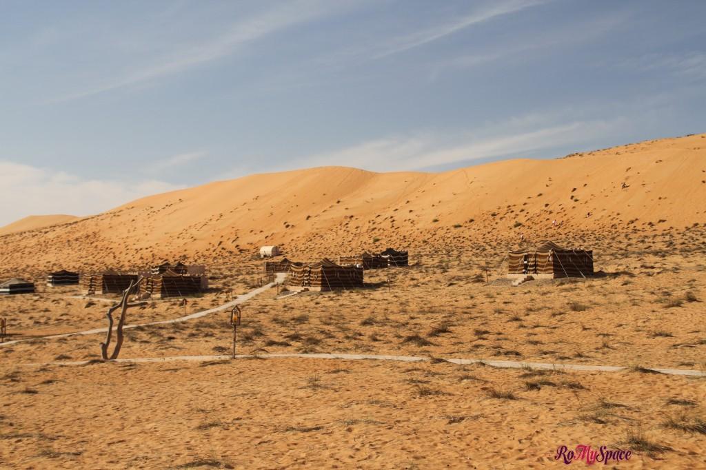 campo tendato - 1000 nights camp lodge - deserto sharqiya - oman