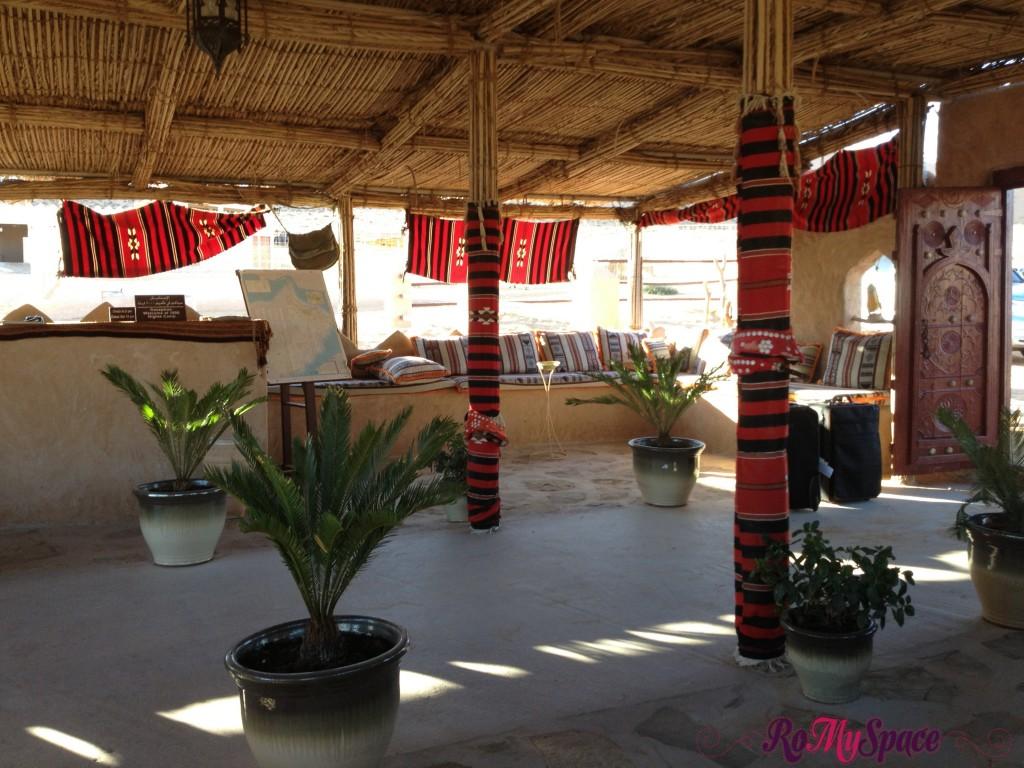 reception 1000 nights camp lodge - deserto sharqiya - oman