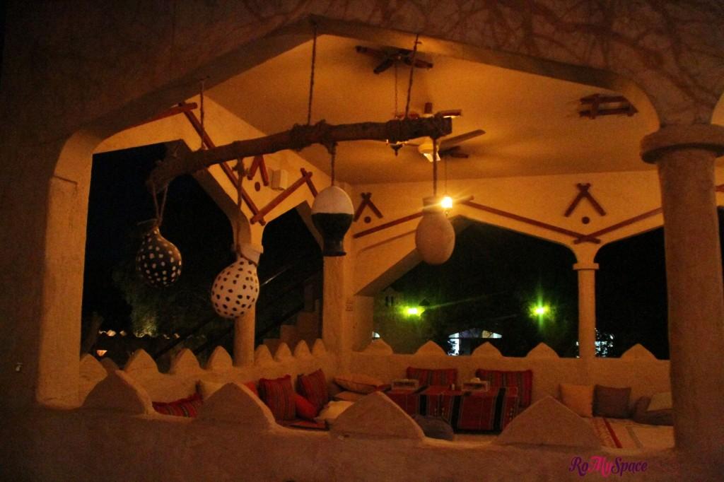 ristorante - 1000 nights camp lodge - deserto sharqiya - oman