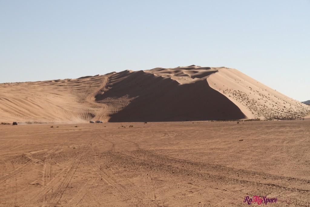 duna di sabbia - deserto sharqiya - oman