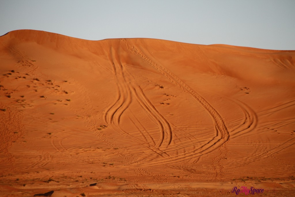duna sabbia al tramonto - deserto sharqiya