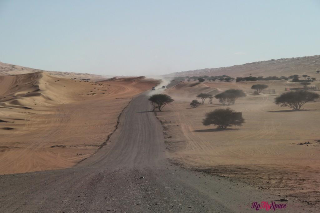strada - deserto sharqiya - oman