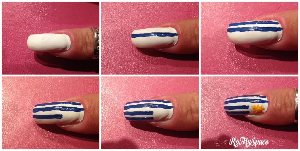 uruguay bandiera flag world cup 2014 brasile brasil coppa mondo mondiali calcio football soccer nailart nails unghie polish smalto decorazione pollice copia