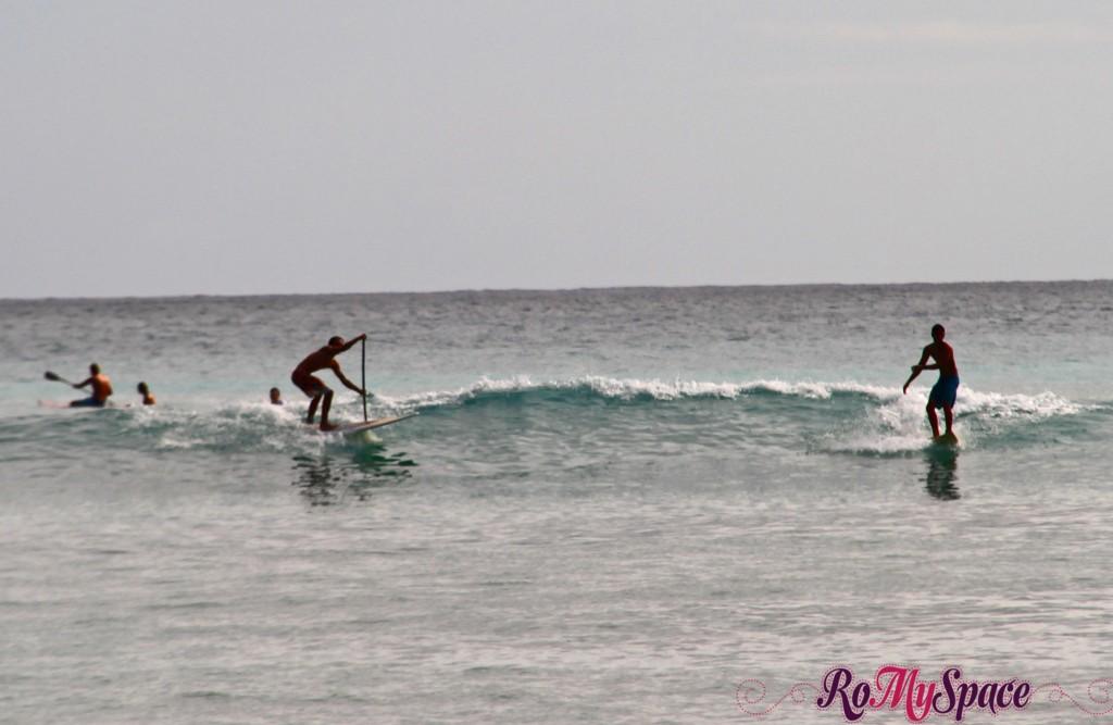 Surfing a Waikiki
