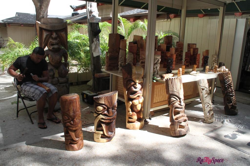 Tiki all'International Market Place Waikiki