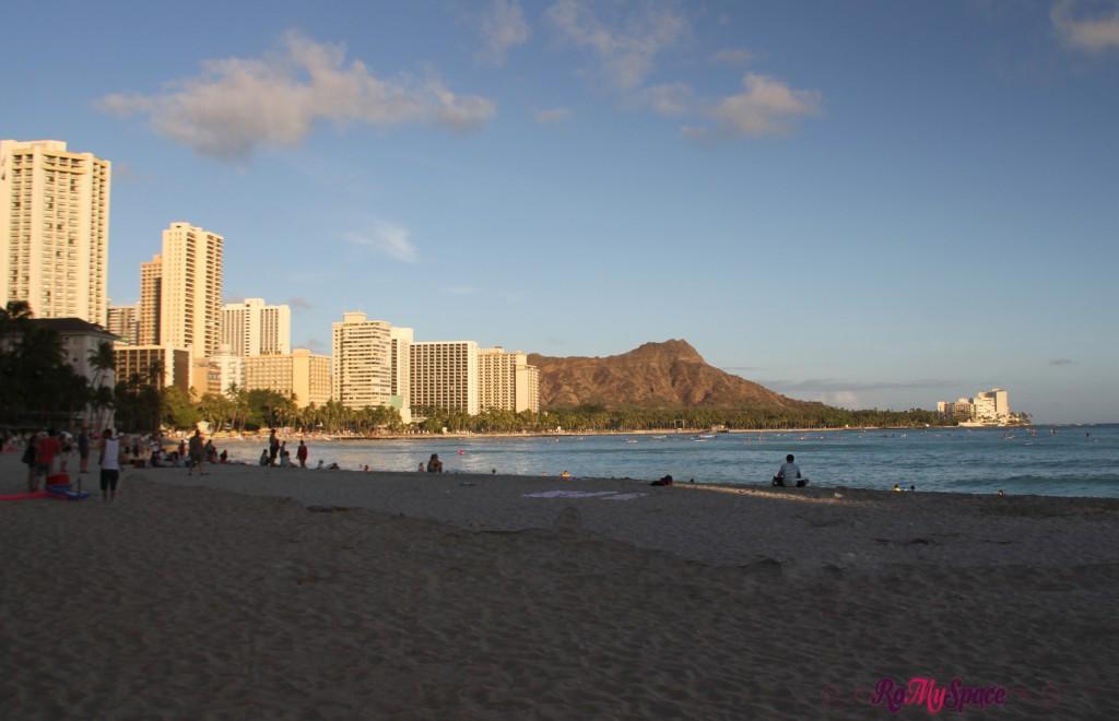 Waikiki e Diamond Head