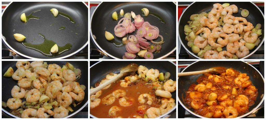 gamberi sichuan cinese china cina food ricetta recipe tutorial zenzero miele ketchup soia soya scalogno gamberi 2