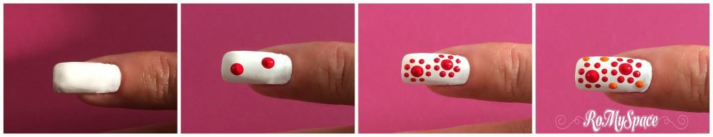 mignolo nailart nails nail art unghie decorazione romyspace bianco white