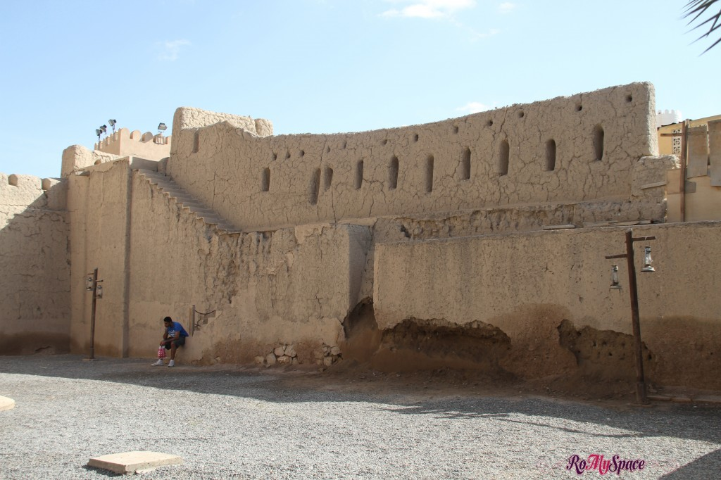Cortile del Forte di Nizwa
