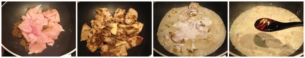 pollo curry verde green thai thailand thailandia tailandia chicken ricetta recipe romyspace zenzero ginger 2