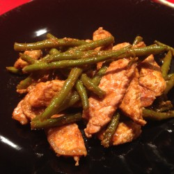 Maiale Thai al Curry Rosso