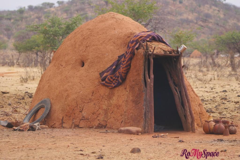 Villaggio Himba vicino a Epupa Falls - Casa tipica