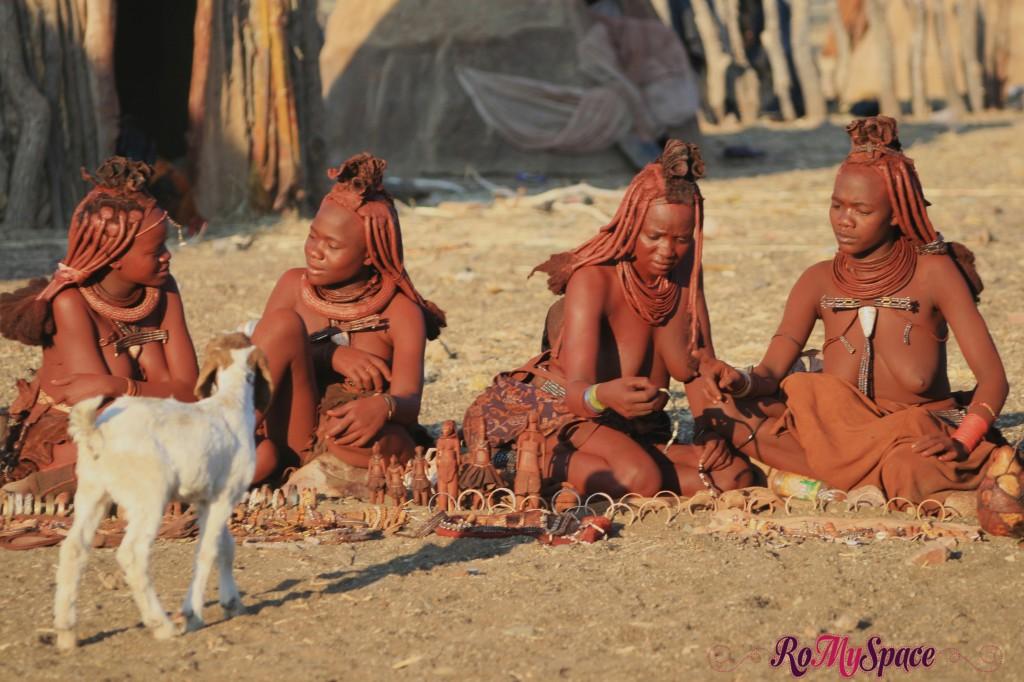 Villaggio Himba a Opuwo - Mercatino
