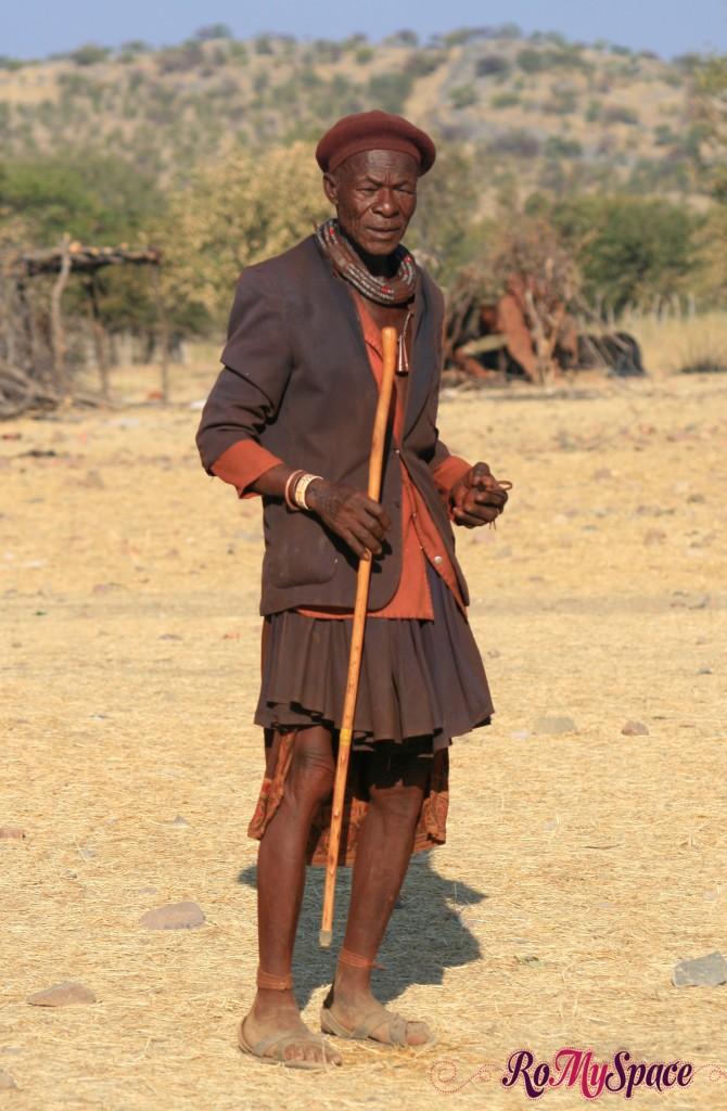 Villaggio Himba a Opuwo - Capo villaggio