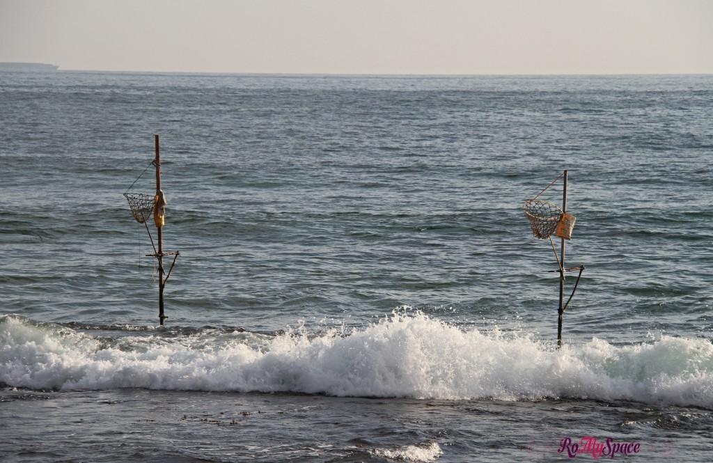 i supporti dei pescatori trampolieri