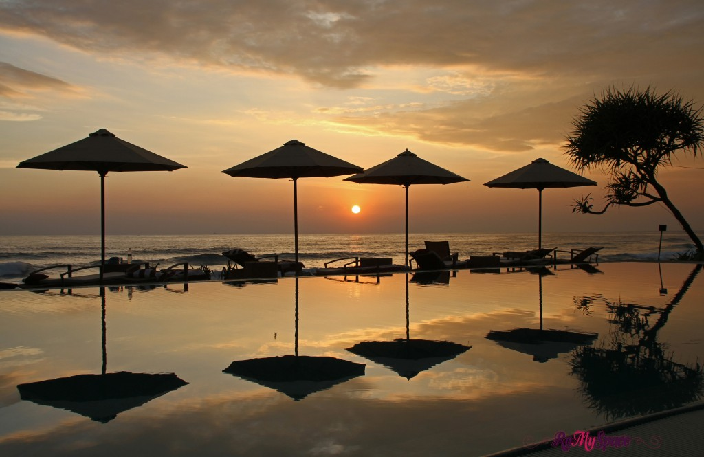 The Fortress Resort a Galle al tramonto