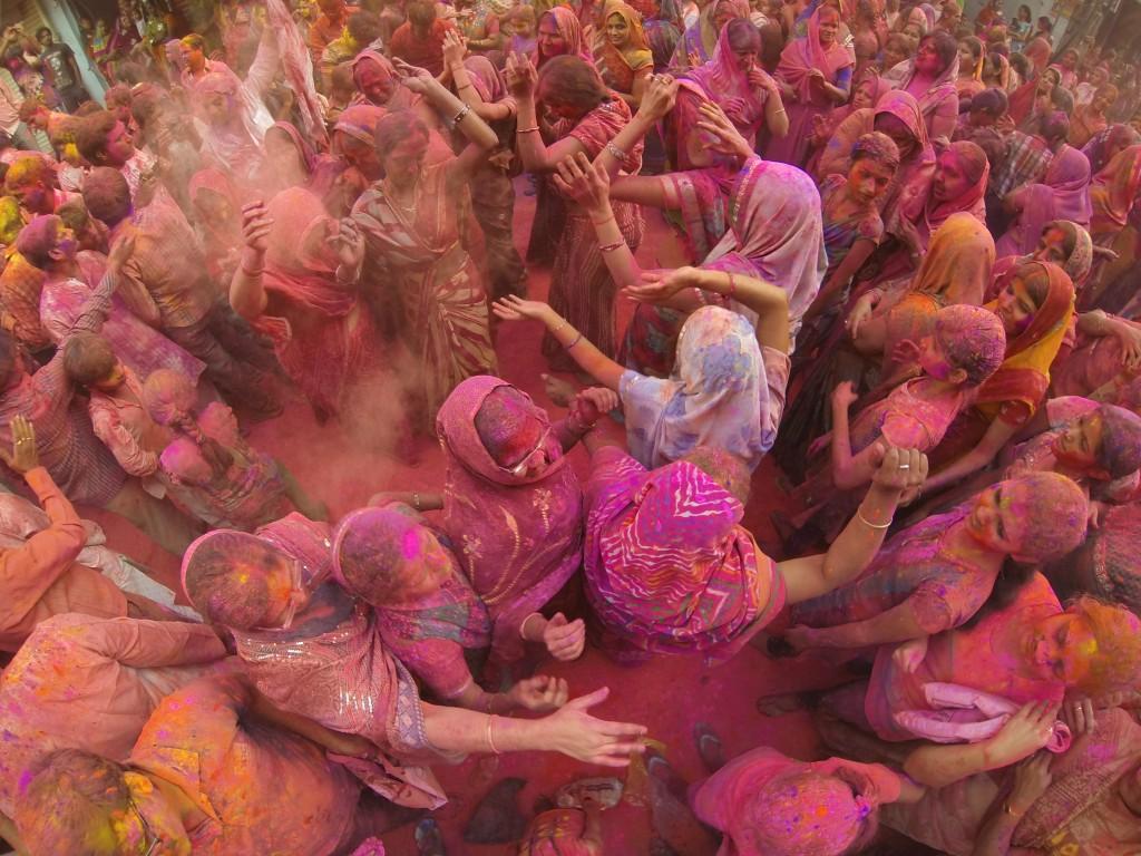 holi festival  Rajesh Pamnani
