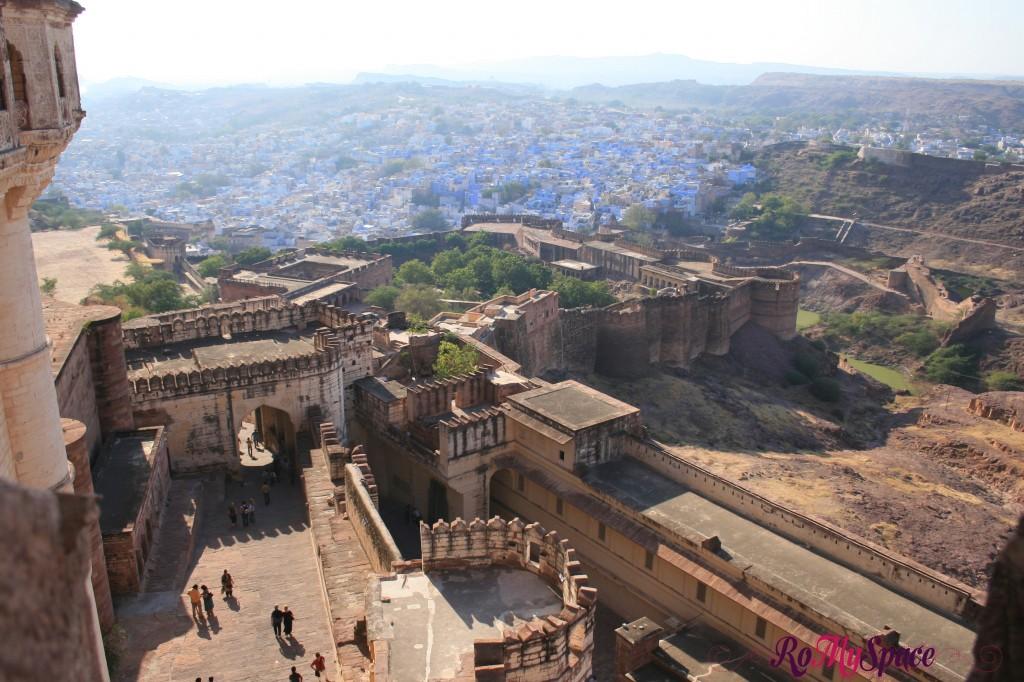 jodhpur - il forte -  la città blu