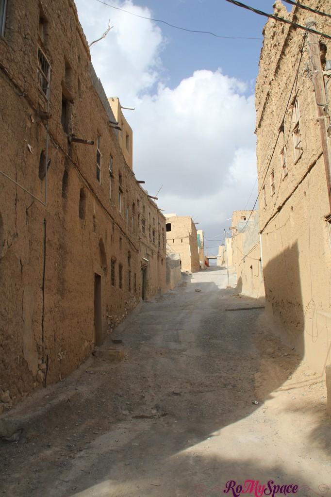 Strada del villaggio di El Hamra