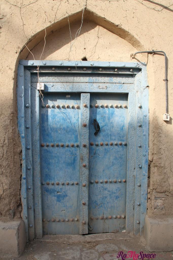 Porta tipica di El Hamra