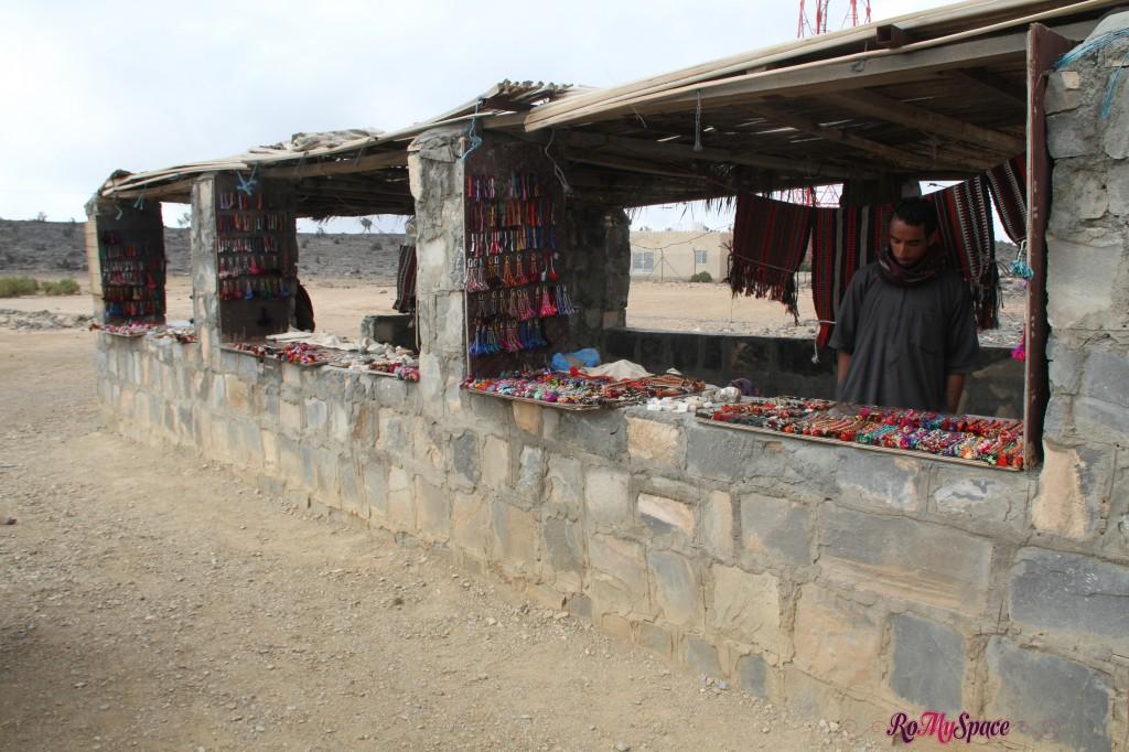 Shopping a Wadi Ghul - Jabel Shams