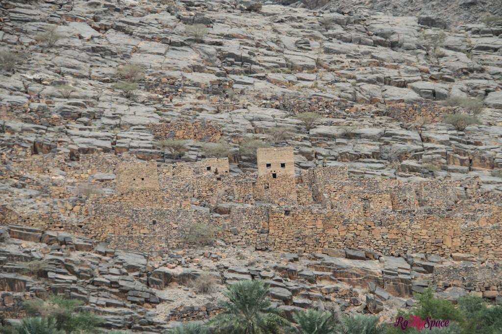 Villaggio abbandonato - Jabel Shams